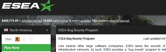 ESEA Server-Side Request Forgery and Querying AWS Meta Data